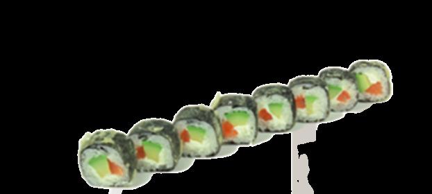 A81. Tiger Roll tempura (8 piezas)