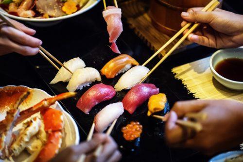 Menú japonesa