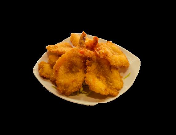Langostino frito