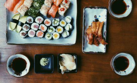 Comida oriental a domicilio saludable