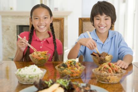 comida china para niños